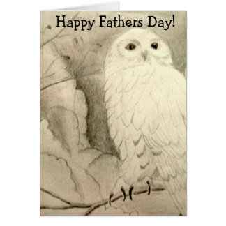 Night Owl Fathers Day Card