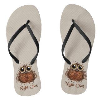 Night Owl Flip Flops