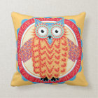 Night Owl - For Those Who Just Never Sleep Throw Pillow