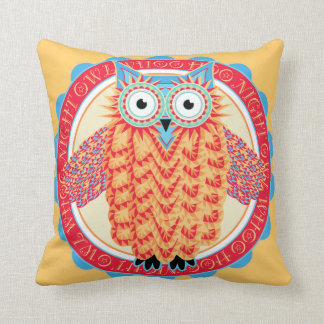 Night Owl - For Those Who Just Never Sleep Throw Pillows