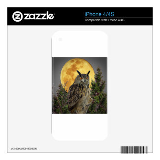 night owl full moon skin for the iPhone 4
