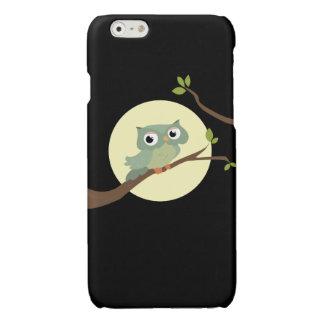 Night owl glossy iPhone 6 case