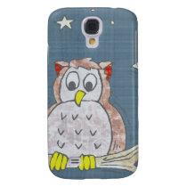 Night Owl In Moonlight Samsung Galaxy S4 Case