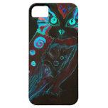 Night Owl IPhone Case Vintage IPhone4 Gothic Art iPhone 5 Cases
