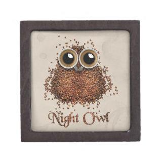 Night Owl Jewelry Box