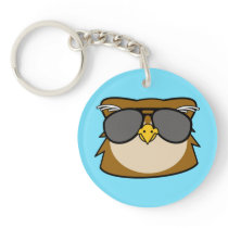 Night Owl Keychain