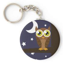 """""""Night Owl"""" Keychain"""