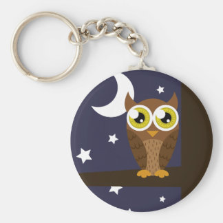 """Night Owl"" Keychain"