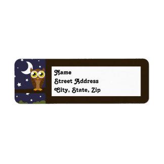 """Night Owl"" Label"