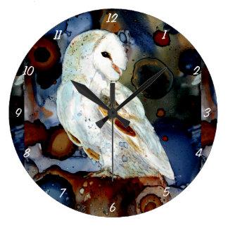 Night Owl Large Clock