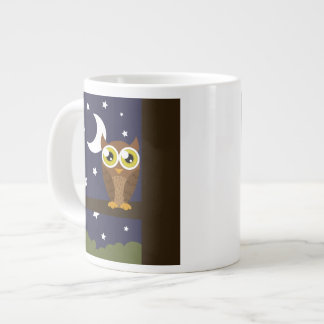 """Night Owl"" Large Coffee Mug"