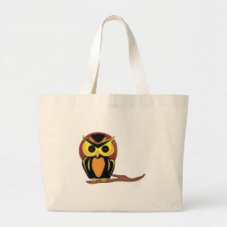 Night Owl Large Tote Bag
