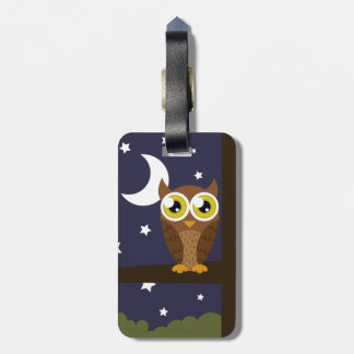 """""""Night Owl"""" Tags For Bags"""
