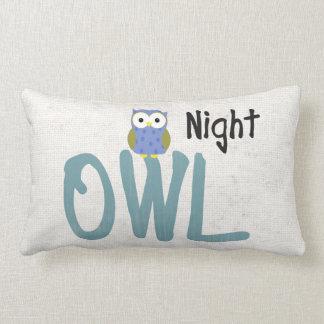 Night Owl Lumbar Pillow