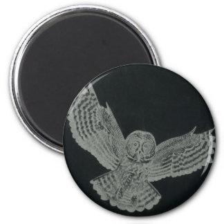 night owl fridge magnet
