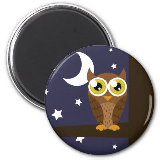 """Night Owl"" Magnet"