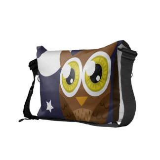 """Night Owl"" Messenger Bag"