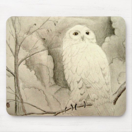 Night Owl Mouse Pad