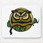 Night Owl Mouse Pads