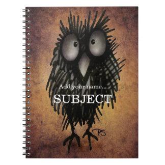 Night Owl Spiral Note Books