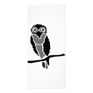 night owl owlet full color rack card