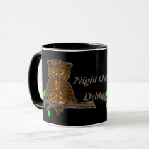 Night Owl Personalized Mug