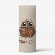 Night Owl Pillar Candle