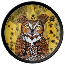NIGHT OWL PLATE