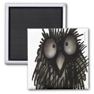 Night Owl Refrigerator Magnet