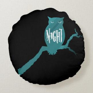 Night Owl Round Pillow