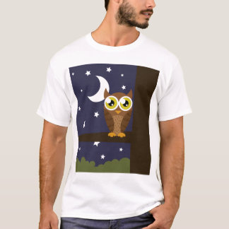 """Night Owl"" Shirt (No Text)"