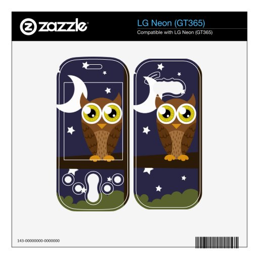 """Night Owl"" Skin For The LG Neon"