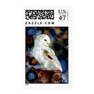Night Owl Stamp