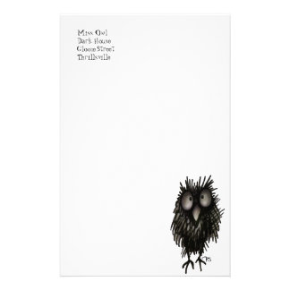 Night Owl Stationery Paper