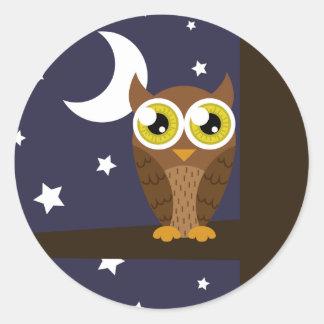 """Night Owl"" Stickers"