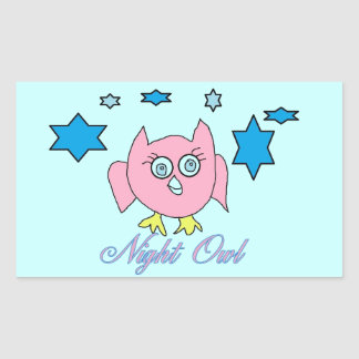 night owl stickers