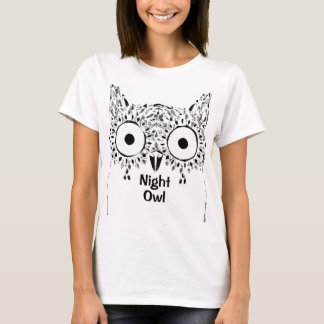 Night owl t shirt for all insomniacs.