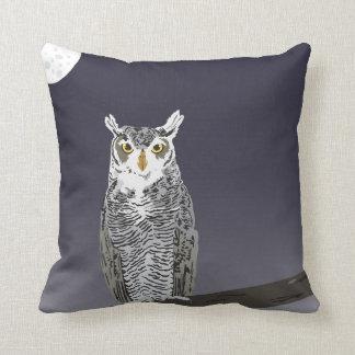 Night Owl Throw Pillow