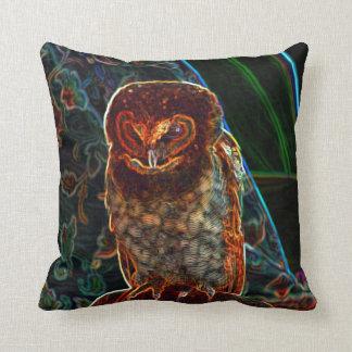 Night Owl Throw Pillows