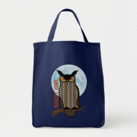 Night Owl Tote Bag bag