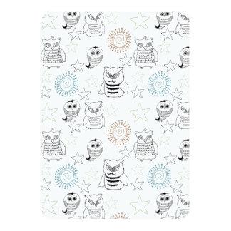 Night Owls Baby Shower Card