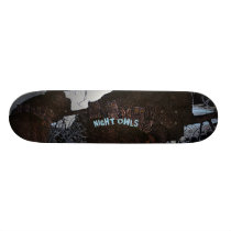 Night Owls Skateboard Deck