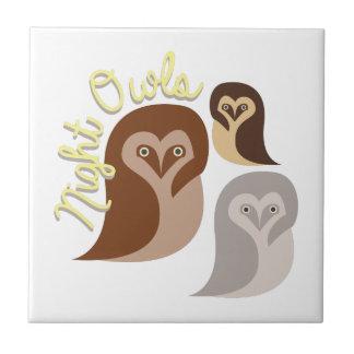Night Owls Tile