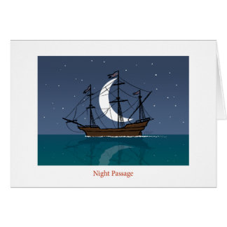 Night Passage Card