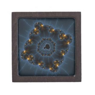 Night Prowler Fractal Art Keepsake Box