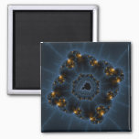 Night Prowler Fractal Art Magnet