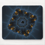 Night Prowler Fractal Art Mouse Pad