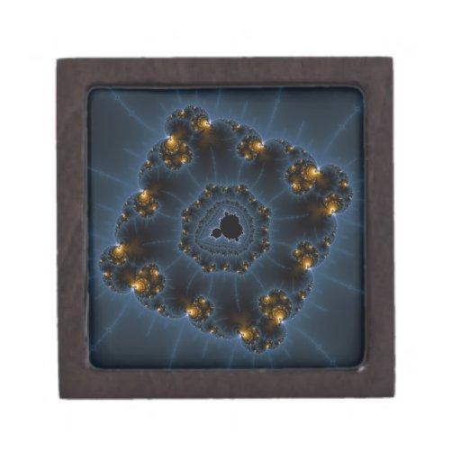 Night Prowler Fractal Art Premium Keepsake Box
