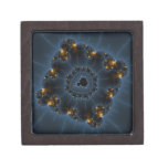 Night Prowler Fractal Art Premium Jewelry Box