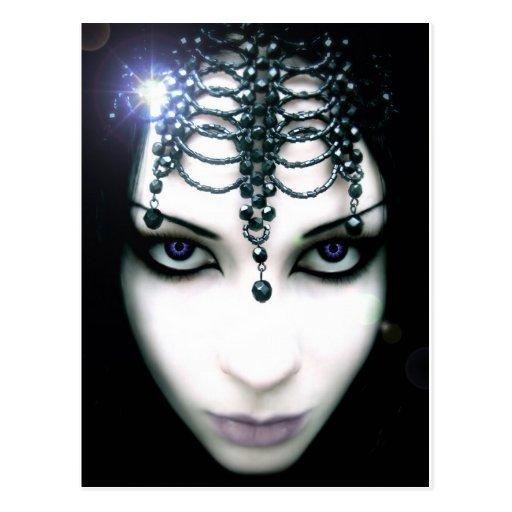 """""""Night Queen"""" Postcard"""